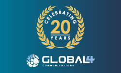 Celebrating 20 years of Global 4 Communications!